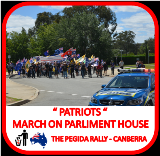 Patriots March on Parliment House